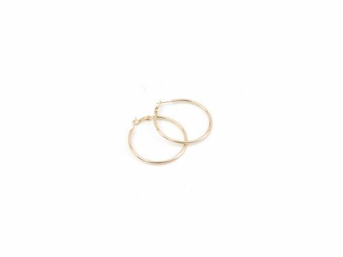 Σκουλαρίκι Κρίκος Χρυσός 40mm
