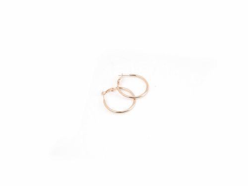 Σκουλαρίκι Κρίκος Rose Gold 30mm