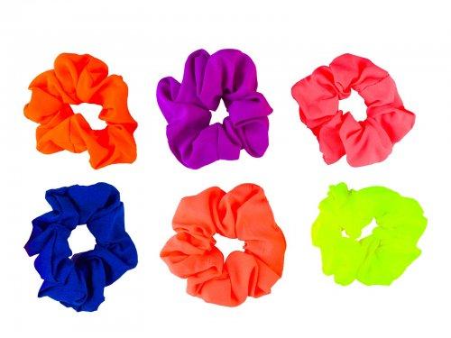 Σούρα μαλλιών Fluo χρώματα