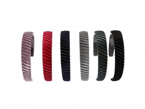 Στέκα μαλλιών Βελουτέ Χρώματα