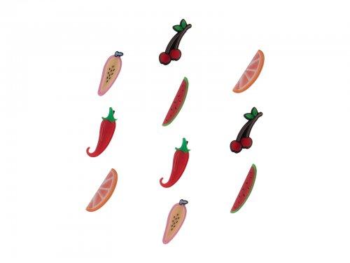 Παιδικό κλιπ μαλλιών φρούτα