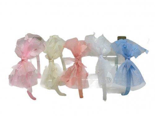 Παιδική στέκα μαλλιών με φιόγκο