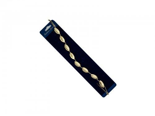 Νυφικό αξεσουάρ μαλλιών με τσιμπιδάκι χρυσό 27 cm