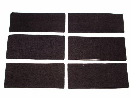 Κορδέλα Mαύρη 9 cm