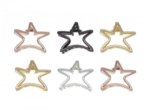 Μεταλλικό κλάμερ μαλλιών αστέρι