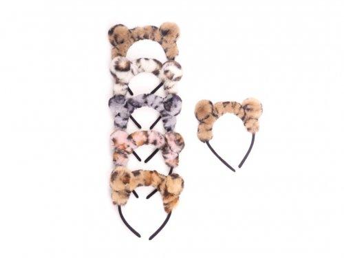 Παιδική στέκα μαλλιών με γούνινα αυτάκια animal